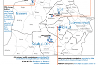 IOM Iraq- Mosul Response Update #2 Cover- map + activities